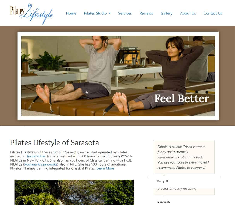 PilatesLifestyle Home