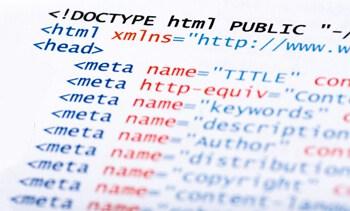 web page meta data