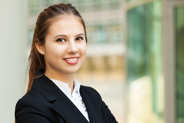young woman entrepreneur